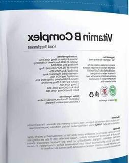 120pcs Vitamin <font><b>B</b></font> <font><b>Complex</b></f