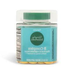B Complex Dietary Supplement Tablet Fruit Vegetable Blend H
