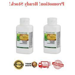2 BOTTLES AMWAY NUTRILITE Natural B Complex Contains 7 B Vit