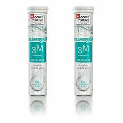 2 X Swiss Energy Magnesium B Complex Effervescent 20 Count D