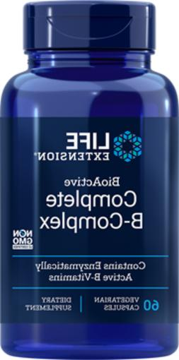 4X $8.39 Life Extension BioActive Complete B-Complex 3 month