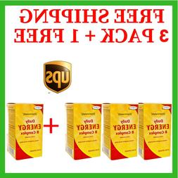 4 PK Enzymatic Therapy Fatigued to Fantastic! Daily Energy B