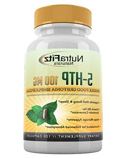 5 HTP 100mg Supplement, Plus B6-5HTP Organic Whole Food - Na