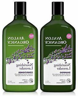 Avalon Organics Lavender Nourishing Shampoo & Conditioner Du