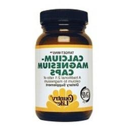 Country Life, Calcium Magnesium, w/Vitamin D Complex, 240 Ve
