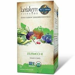 Garden of Life - mykind Organics B Complex Once Daily - 30 V