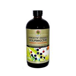 Liquid Vitamin B Complex, 16 oz  by NATURE'S ANSWER