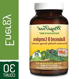 MegaFood - Balanced B Complex, Promotes Energy Production, A