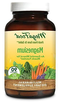 MegaFood - Magnesium, Supports a Healthy Heart, Nervous Syst