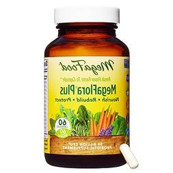 MegaFood - MegaFlora Plus, Probiotic Help for Digestion, Int