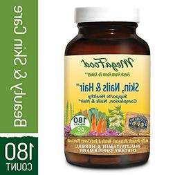 MegaFood - Skin, Nails, & Hair, Multivitamin Support for Hor