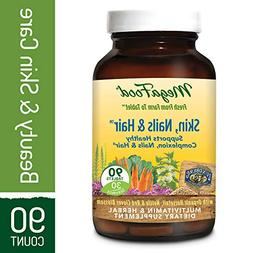 MegaFood - Skin, Nails Hair, Promote Clear Radiant Skin Plus