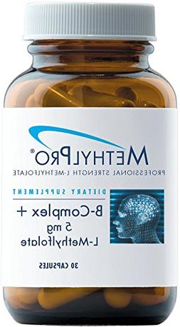 MethylPro - B-Complex + 5 mg L-Methylfolate - Active B Vitam