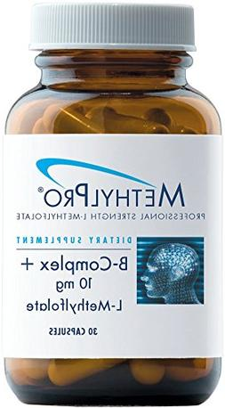 MethylPro B-Complex + L-Methylfolate 10 mg - Active Folate &