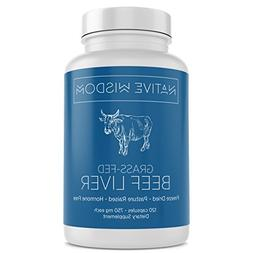 Native Wisdom Grass Fed Beef Liver Capsules  | New Zealand P