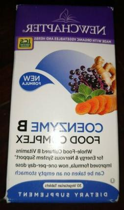 New Chapter - Coenzyme B Food Complex - 30 Vegetarian Tablet