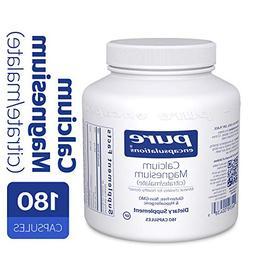 Pure Encapsulations - Calcium Magnesium  - 180 vcaps