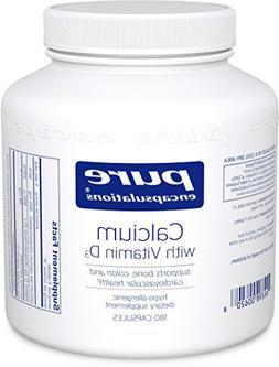 Pure Encapsulations - Calcium with Vitamin D3 - Hypoallergen
