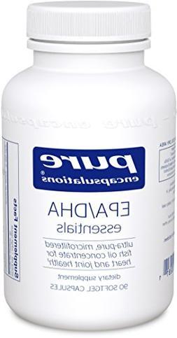 Pure Encapsulations - EPA/DHA Essentials - Ultra-Pure, Molec