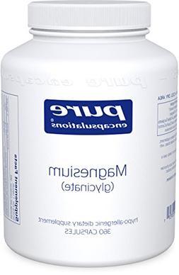 Pure Encapsulations - Magnesium Glycinate - 360 Vegetarian C