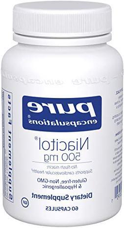 Pure Encapsulations - Niacitol 500 mg - Hypoallergenic No-Fl