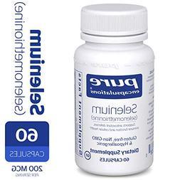 Pure Encapsulations - Selenium , 60 Capsules
