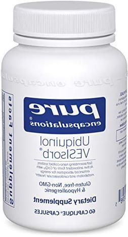 Pure Encapsulations - Ubiquinol VESIsorb - Hypoallergenic Su