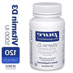 Pure Encapsulations - Vitamin D3 5000 IU 120 vcaps