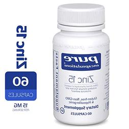Pure Encapsulations - Zinc 15 - Zinc Picolinate  Highly Abso