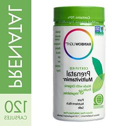 Rainbow Light - Certified Prenatal Multivitamin, 120 Count,