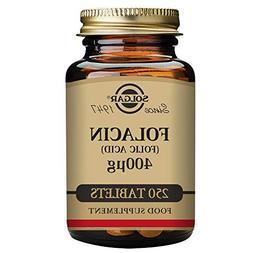 Solgar - Folic Acid, 400 mcg