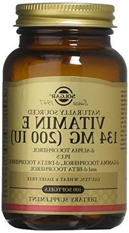 Solgar - Vitamin E 200 IU  100 Mixed Softgels