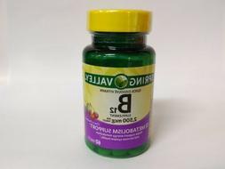 Spring Valley - Vitamin B-12 2500 mcg, Sublingual, 60 Microl