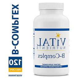 Vital Nutrients - B-Complex - Balanced High Potency B Vitami