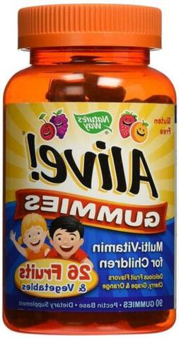 Nature's Way Alive Gummies Multi-Vitamin for Children, 2 Cou