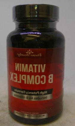 All B Vitamins Folic Acid Complex Supplement Stress 90 Veget