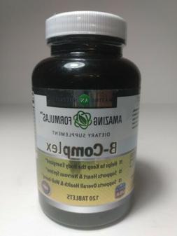Amazing Formulas Dietary Supplement B-Complex 120 Tablets