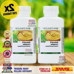 AMWAY NUTRILITE Natural B Complex 7 B Vitamins 250 Tablets x