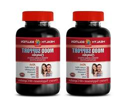 anxiety and stress relief supplements - MOOD SUPPORT COMPLEX