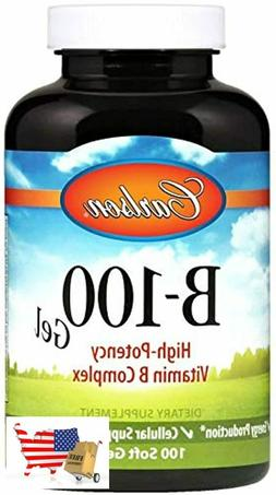 B-100 Gel, High-Potency Vitamin B Complex, Energy Production