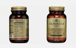 Solgar B-Complex 50, Energy Metabolism, Suitable for Vegans,