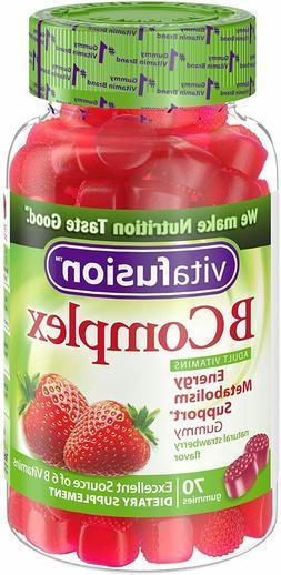 Vitafusion B Complex Gummy Vitamins, 70 ct