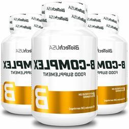 BIOTECH USA B-COMPLEX - Multivitamin Food Supplement - Vitam