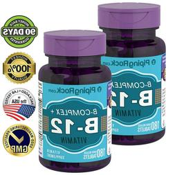 B COMPLEX PLUS VITAMIN B-12 PROTEASE NIACINAMIDE HEALTHY SUP