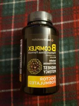 HEALTH REVOLUTION B COMPLEX STRESS FORMULA, ALL B-VITAMINS,