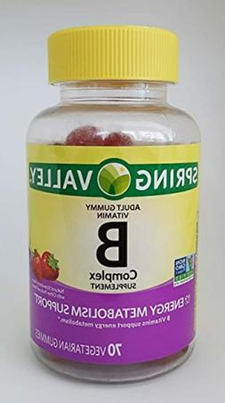 Spring Valley B Complex Supplement Energy Metabolism Support