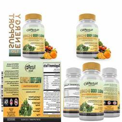 B Complex Vitamins Whole Food Supplement B12 Methylcobalamin