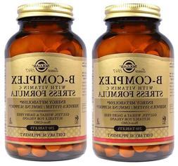 Solgar - B-Complex with Vitamin C Stress Formula, 250 Tablet