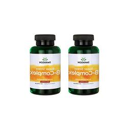 Swanson B Vitamin Stress Complex with Vitamin C Stress Relie