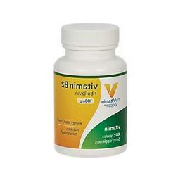 Vitamin B2  100mg Energy Production Nutrient Metabolism Supp